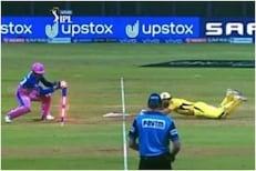 IPL 2021 : धोनीची उडी बघून चाहते म्हणाले, 21 महिने उशीर झाला!