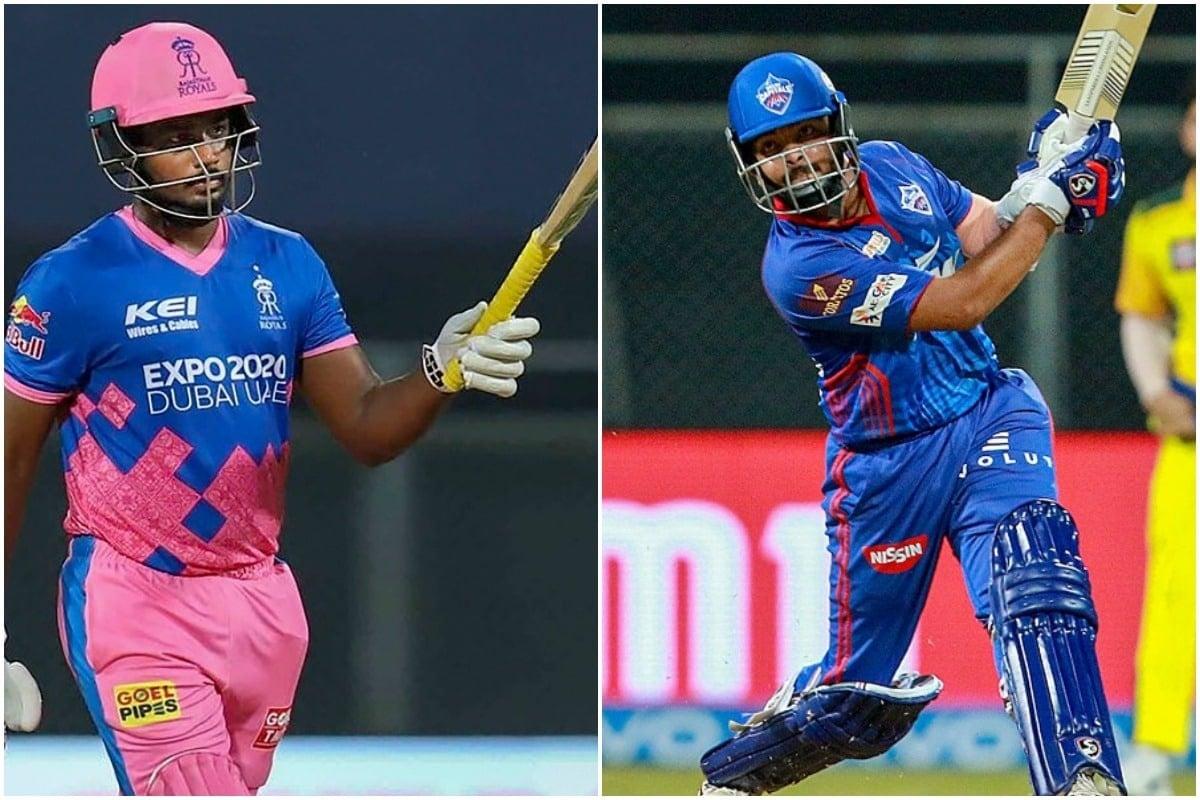 IPL 2021: संजू सॅमसननं टॉस जिंकला, 'ही' आहे दोन्ही टीमची Playing 11