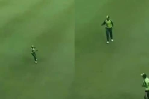 SA vs PAK : बॉल कुठे आणि पळतो कुठे! फिल्डिंगमुळे पाकिस्तानी खेळाडू पुन्हा ट्रोल, VIDEO