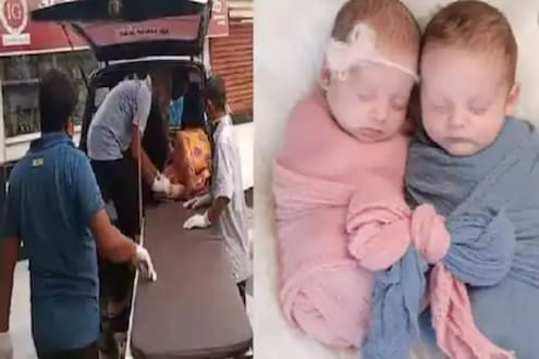 अखेर कोरोनाबाधित महिलेनं दिला जुळ्या बाळांना जन्म, अनेक रुग्णालयांनी नाकारली होती प्रसूती