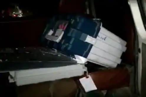 आसाममध्ये मतदानानंतर भाजप उमेदवाराच्या कारमध्ये आढळलं EVM, 4 अधिकारी निलंबित