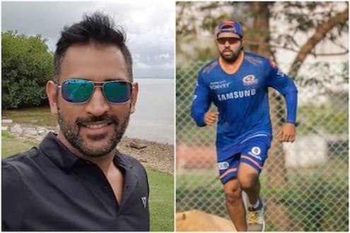 IPL 2021 : धोनी शून्य रनवर आऊट होताच रोहित शर्मा ट्रोलर्सच्या निशाण्यावर, पाहा कारण