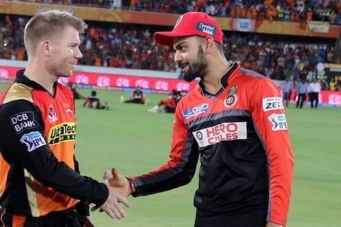 IPL 2021, RCB vs SRH: डेव्हिड वॉर्नरनं टॉस जिंकला, विराटच्या टीममध्ये एक बदल
