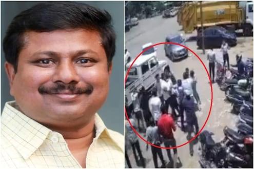 VIDEO: आमदार बनसोडेंवर गोळीबार प्रकरण; एक दिवसापूर्वीच्या घटनेचं CCTV फूटेज होतय व्हायरल