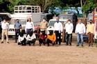 Pune : शेतकऱ्यांची वाहने चोरणाऱ्या टोळीचा पर्दाफाश, 77 लाखांची वाहने जप्त