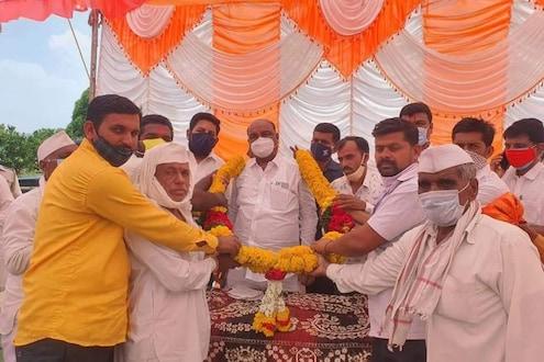 Aurangabad News: सोशल डिस्टन्सिंगचा फज्जा! शिवसेनेचे मंत्री विकास कामांच्या उद्घाटनात व्यस्त