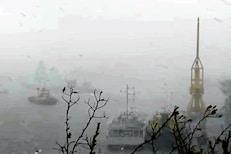 खवळलेव्या समुद्रात अडकले 273 कर्मचारी, INS Kochi निघाली वाचवण्यासाठी, Video