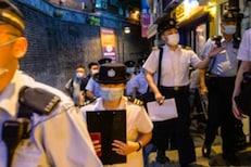 अवैध्य मसाज पार्लरवर पोलिसांची छापेमारी; शेवटी कमिश्नरला पकडून आणलं बाहेर