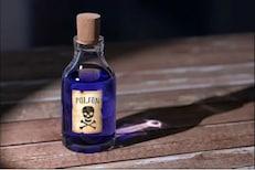औषध असल्याचं सांगत बापानं पोटच्या मुलाला पाजलं विष; नगरमधील धक्कादायक घटना