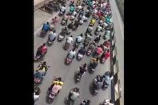 पुण्यात गुंडाच्या अंत्ययात्रेत 150 बाईकची रॅली;  VIDEO आल्यानंतर पोलिसांना जाग