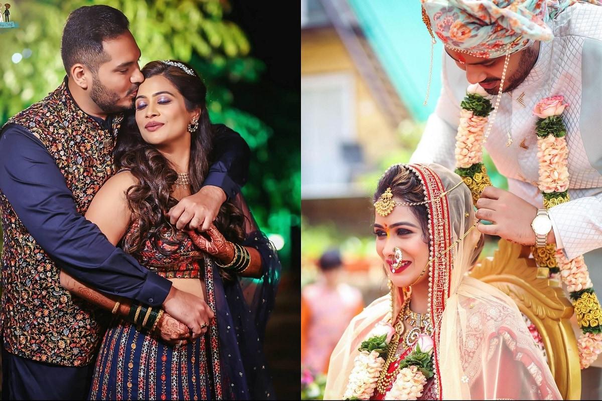 अभिनेत्री रुचिता जाधवचा (Ruchita Jadhav) नुकताच विवाह सोहळा पार पडला आहे. तिच्या लग्नाची सध्या सोशल मीडियावर चांगलीच चर्चा रंगली आहे. तर तिचा लूक पाहून अनेकांनी कमेंट्सचा वर्षाव केला आहे. पहा रुचिता चे मनमोहक फोटो.