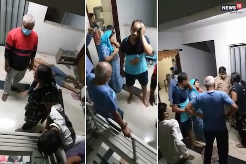 शुल्लक कारणावरुन कुटुंबातील 4 जणांवर चाकू हल्ला; LIVE VIDEO आला समोर