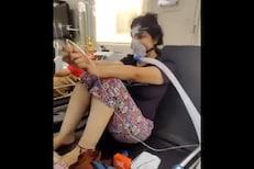 ICU बेड न मिळूनही कोरोनाशी लढा देतेय ही तरुणी, डॉक्टरांनीच शेअर केला VIDEO
