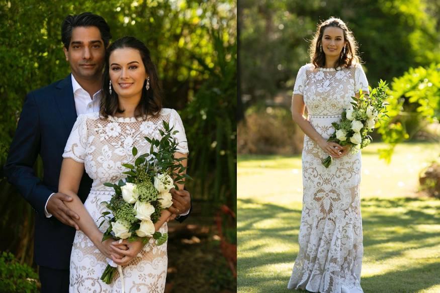 अभिनेत्री एव्हलिन शर्माने मागील महिन्यात ऑस्ट्रेलियात तुषान भिंडी याच्याशी लग्न केलं. एव्हलिनला धुमधडाक्यात लग्न करायचं होतं पण कोरोनाच्या पार्श्वभूमीवर तिने साध्या पद्धतीने विवाह केला.