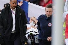 EURO 2020 मध्ये भयंकर घटना, मॅच सुरू असताना मैदानातच कोसळला खेळाडू, LIVE VIDEO