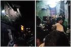 मालाड मालवणीत इमारतीचा भाग कोसळला; ढिगाऱ्याखाली काही नागरिक अडकल्याची भीती