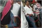 आरोपीला पकडण्यासाठी गेलेल्या पोलिसांवर चाकू हल्ल्याचा प्रयत्न, VIDEO VIRAL