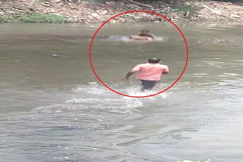 नागपुरातील नाग नदीत रक्तरंजित थरार! अनैतिक संबंधातून हत्या; VIDEO VIRAL