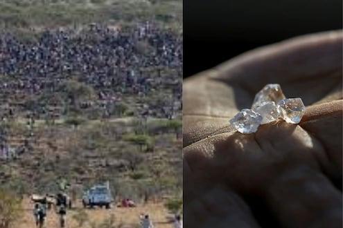 'खोदा पहाड निकला चूहा'; हिरा आढळल्याचं ऐकताच हजारो लोकांनी दिवसरात्र केलं खोदकाम, अन्...