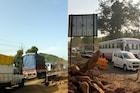 VIDEO: मुंबई अहमदाबाद महामार्गावर वाहनांच्या लांबच लांब रांगा