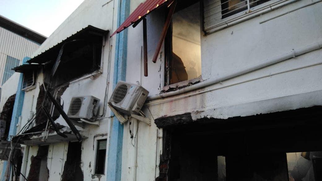 अग्निशमन दलाचे 8 बंब घटनास्थळी दाखल झाले होते. त्याद्वारे आगीवर नियंत्रण मिळवण्यात यश आलं. कंपनीत अडकलेल्या मजुरांची सुटका करण्यासाटी JCB च्या साह्याने भिंती फोडून त्यांना बाहेर काढण्याचाही प्रयत्न करण्यात आला. तहसीलदार अभय चव्हाण यांनी याबाबत माहिती दिली आहे