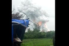 BREAKING : डहाणूमध्ये फटाका कंपनीत भीषण स्फोट, 5 ते 10 किमी परिसर हादरला, VIDEO