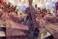 भलतीच हौस! लग्नात नवरीबाईनं घातला 100 किलोचा लेहंगा; VIDEO पाहून चक्रावले नेटकरी