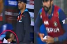 IND vs SL : राहुल द्रविडनं मॅचच्या दरम्यान काय संदेश पाठवला? गुपित उलगडलं