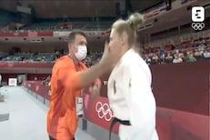 कॉलर पकडली, मग कानशिलात लगावली.. ऑलिम्पिकपटूला जागं करण्यासाठी कोचची पद्धत VIRAL
