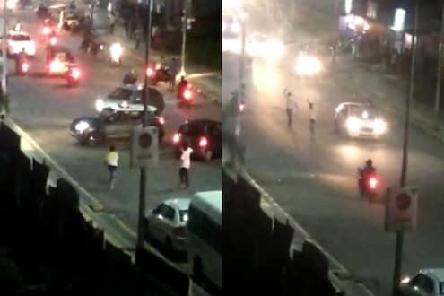 पुण्यातील रस्त्यांवर हातात शस्त्र घेऊन फिरणाऱ्या गुंडांची दहशत; काळजाचा थरकाप उडविणारा VIDEO