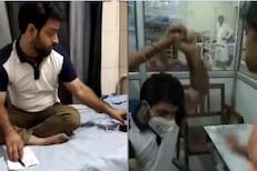 ड्यूटीवर आराम करणाऱ्या डॉक्टरला तरुणीने लगावली कानशिलात; VIDEO तुफान VIRAL