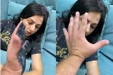 VIDEO: पत्नीच्या तोंडाला काळं फासायला गेला अन्...; पतीची फजिती पाहून खळखळून हसाल