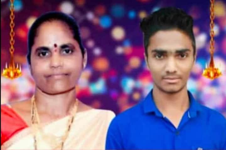 मुंबई-नाशिक महामार्गावर भीषण अपघात; दुचाकीवरुन जाणाऱ्या आई-मुलाचा जागीच मृत्यू