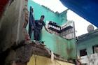 भिवंडीत इमारतीचा भाग कोसळला, एका महिलेचा दुर्दैवी मृत्यू तर 7 जखमी