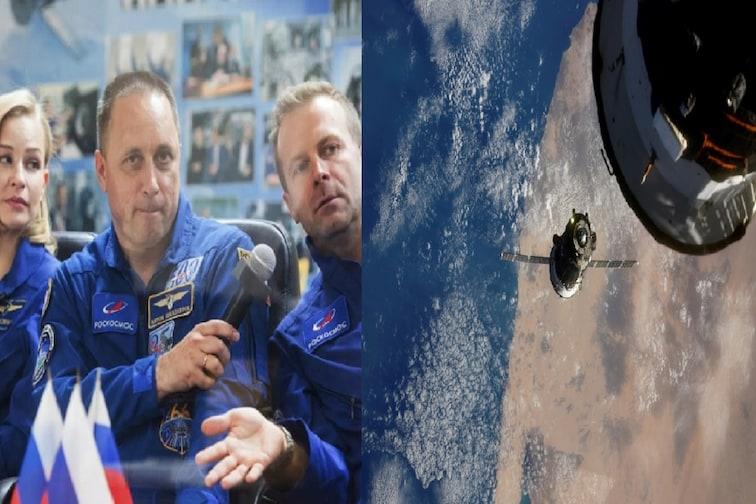Lights, camera, liftoff : अंतराळात झेपावले कलाकार; स्पेसमध्ये फिल्म शूटिंग