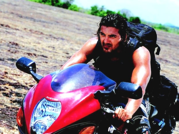 Jhon in Dhoom Movie