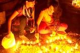 ಚಿಕ್ಕಬಳ್ಳಾಪುರದ ಇತಿಹಾಸ ಪ್ರಸಿದ್ಧ ಭೋಗ ನಂದೀಶ್ವರ ದೇವಾಲಯದಲ್ಲಿ ವಿಜೃಂಭಣೆಯ ಲಕ್ಷದೀಪೋತ್ಸವ