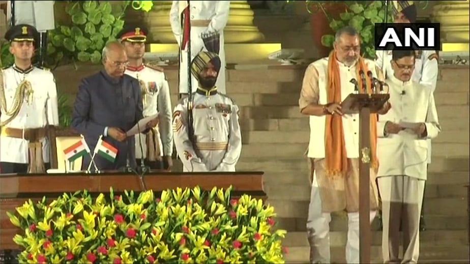 ಗಿರಿರಾಜ್ ಸಿಂಗ್ - ಪಶುಪಾಲನೆ, ಹೈನುಗಾರಿಕೆ, ಮೀನುಗಾರಿಕೆ