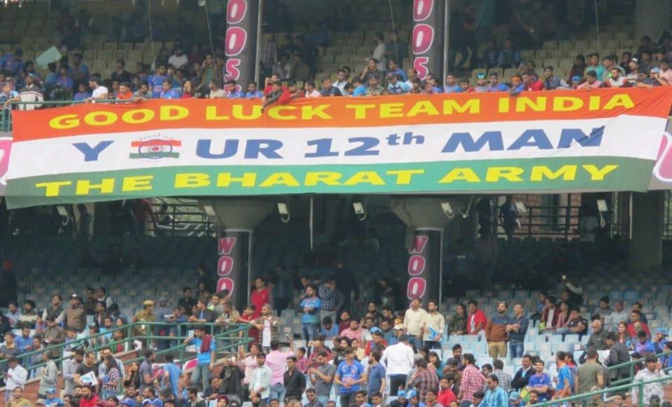 Bharat Army Team India Fans