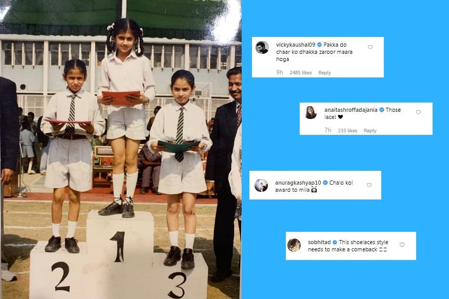Celebs comment on Tapsi Pannu's school photo