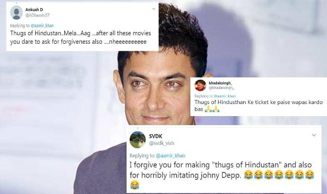 Aamir Khan trolled for his tweet