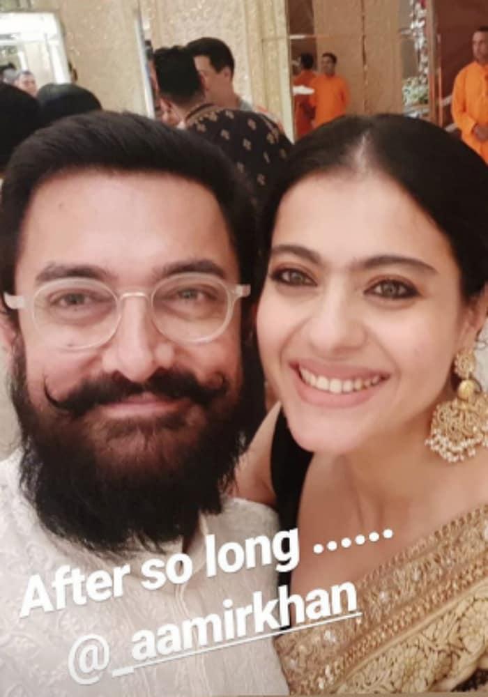 Aamir Khan and Kajol's Latest Selfie Will Take You Down Memory Lane