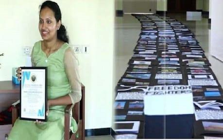 ಇಂಡಿಯಾ ಬುಕ್ ಆಫ್ ರೆಕಾರ್ಡ್ಸ್ಗೆ ಹೊಸ ದಾಖಲೆ ಸೇರ್ಪಡೆ: ಬಾಕ್ಸ್ ಮೂಲಕವೇ ಸಾಧನೆ ಮರೆದ ಕನ್ನಡತಿ
