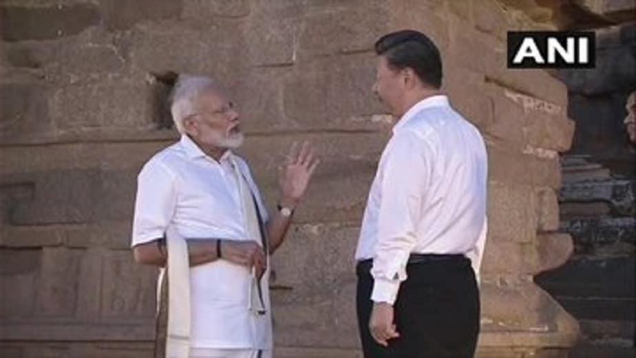 ಮಹಾಬಲಿಪುರಂನ ಶೋರ್ ಟೆಂಪಲ್ಗೆ ಭೇಟಿ ನೀಡಿದ ಮೋದಿ- ಕ್ಸಿ ಜಿನ್ಪಿಂಗ್