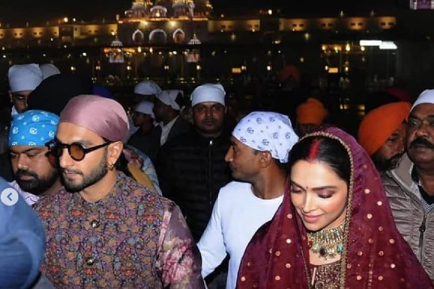 Deepika and Ranveer Visited Amritsar Golden Temple here are the photos