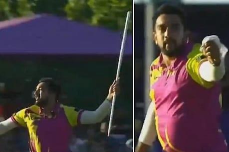 (VIDEO): ವಿಕೆಟ್ ಪಡೆದಾಗ ಈ ಬೌಲರ್ ಮೈದಾನದಲ್ಲೇ ಮಾಡ್ತಾನೆ ಮ್ಯಾಜಿಕ್; ಹೇಗೆ ಗೊತ್ತಾ?