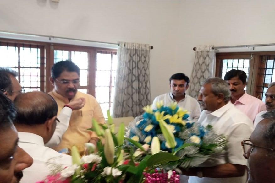 ಆರ್ ಅಶೋಕ್ ಮನೆಗೆ ಭೇಟಿ ನೀಡಿದ ಬಿಜೆಪಿ ನೂತನ ಶಾಸಕರು