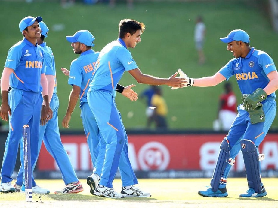 India vs Australia, India under 19 vs sri lanka U19 Indian cricket team has won the all 3 matches in a day