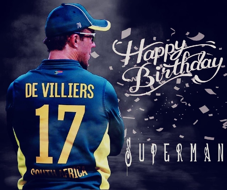 Image result for Happy B'Day AB De Villiers: