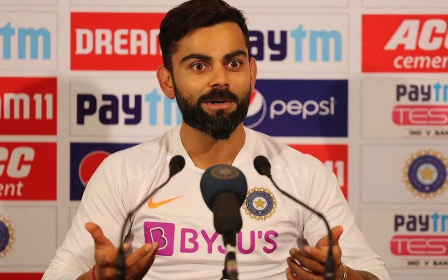Virat Kohli lost his patience in a press meet and warned New Zealand journalist reporters